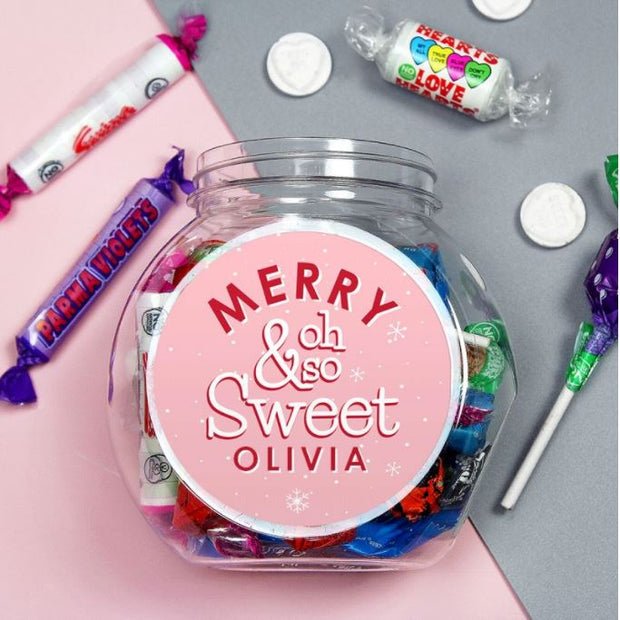 Personalised Oh So Sweet Jar