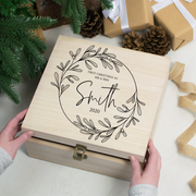 Personalised Mistletoe Christmas Eve Box