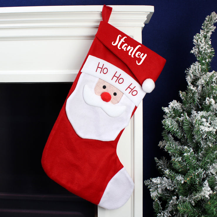 Personalised Santa Christmas Stocking
