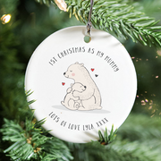'First Christmas As My Mummy' Decoration