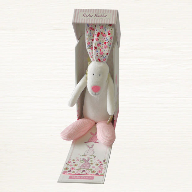 Baby Girl Rabbit Rattle