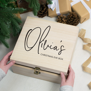 Personalised Signature Christmas Eve Box