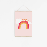 Smile Rainbow Childrens Print