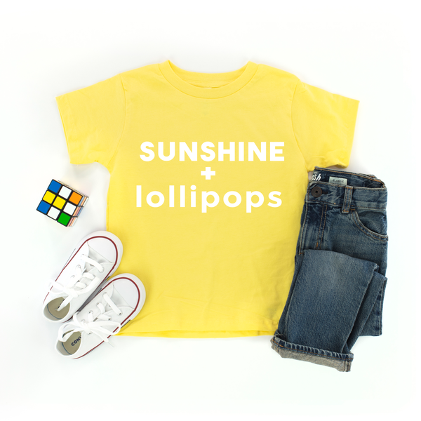 Sunshine and Lollipops Kids T-Shirt