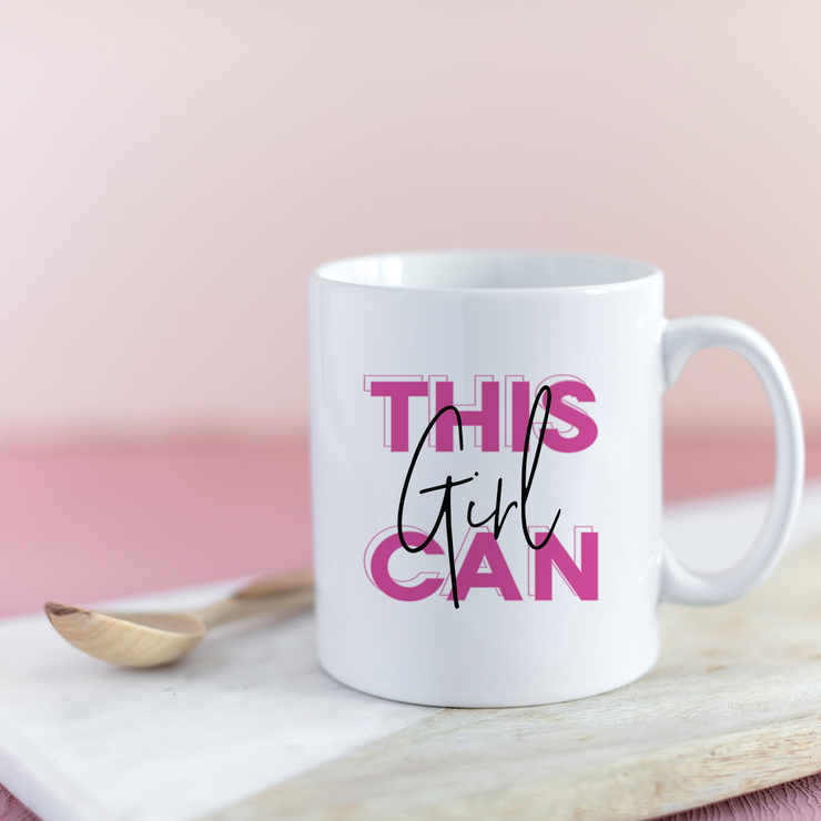 'This Girl Can' Mug