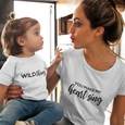 Wild Thing, You Make My Heart Sing...Twinning T-shirt Set