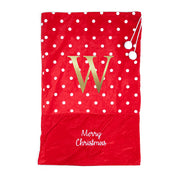 Personalised Christmas Polka Dot Santa Sack
