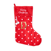 Personalised Polka Dot Christmas Stocking