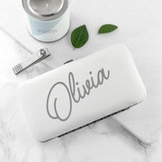 Personalised Manicure Set - White