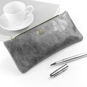 Personalised Luxury Leather Pencil Case
