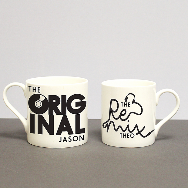 Custom Original & Remix Mug Set
