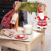 Wooden Santa is Coming Christmas Eve Kit