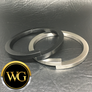Cuffing - Magnetic Stainless Steel (Silver or Black)