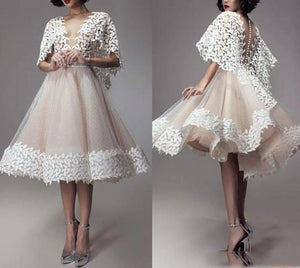 Lace Tulle Women Formal Dress