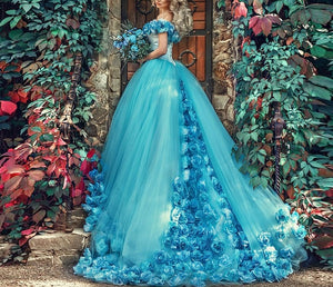 Pricess Puffy Ball Gowns