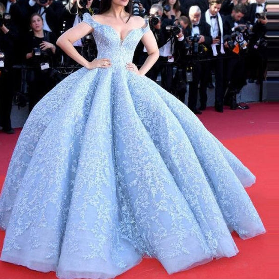 Fashion Puffy Ball Gowns