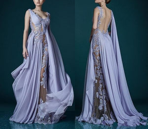 Chiffon Gown Abendkleid Custom Made