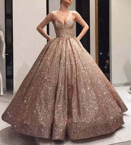 Sparkly Long Women Formal Dress
