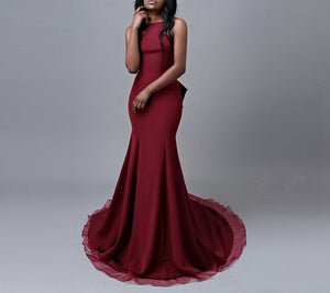 Simple Long Prom Dress