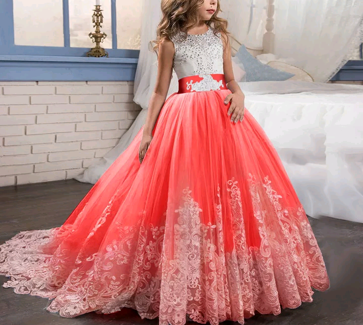 Girls Evening Dress