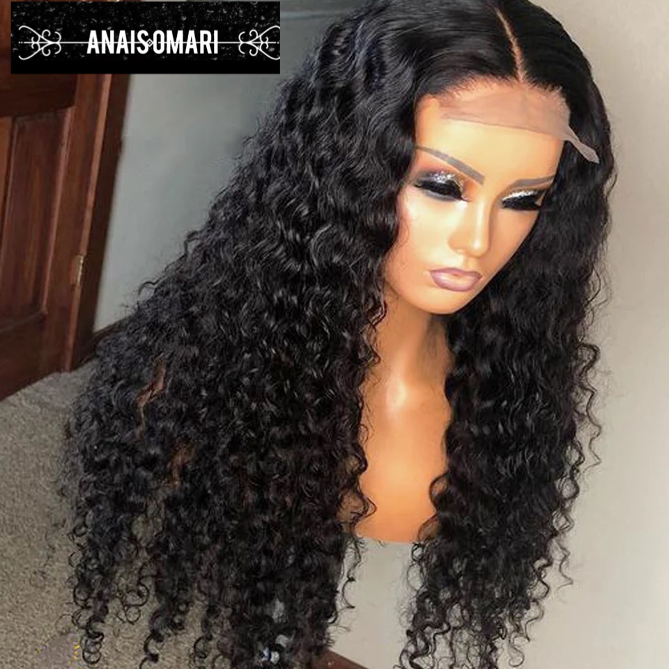 Human Hair  180% Lace Front Wig