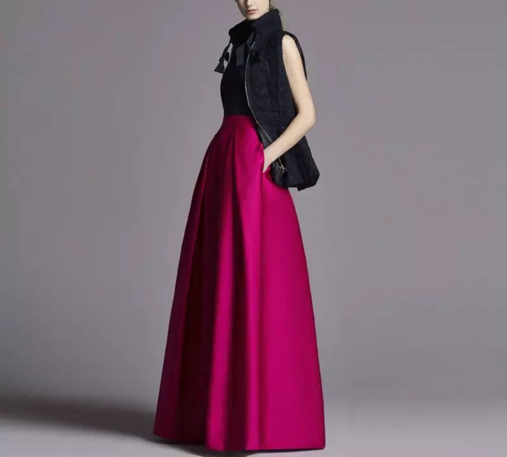 Modest Pleated High Quality Skirt