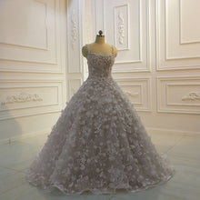 Load image into Gallery viewer, A-Line Floor-length Wedding Dress