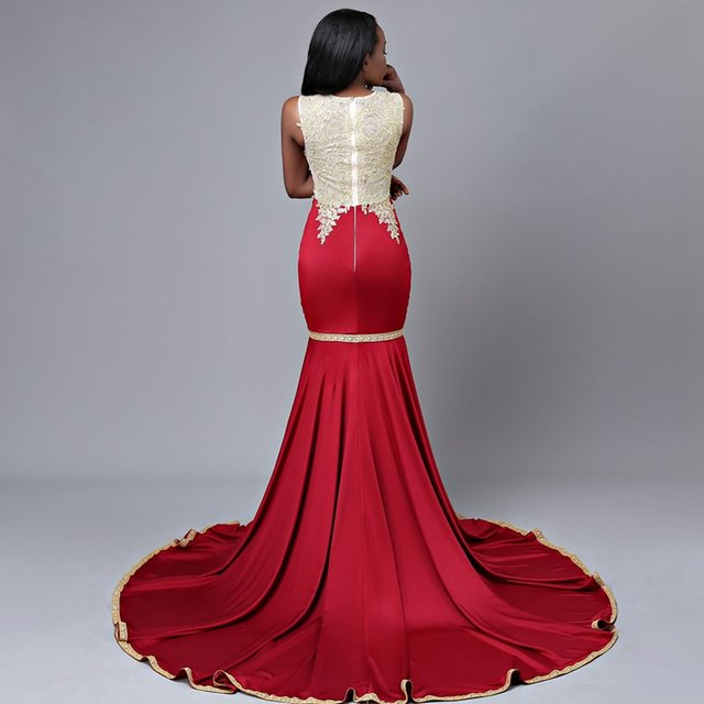 Train Party Prom Dress