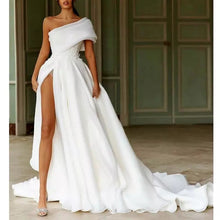 Load image into Gallery viewer, Bohemia One Shoulder Wedding Dress