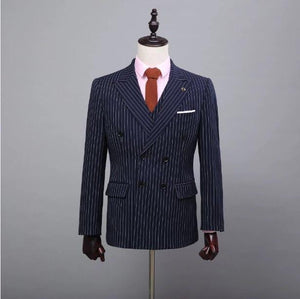 Men Customized Wedding Suit Coat+Pants+Vest+Tie