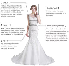 Load image into Gallery viewer, Mermaid Wedding Dress With Detachable Skirt