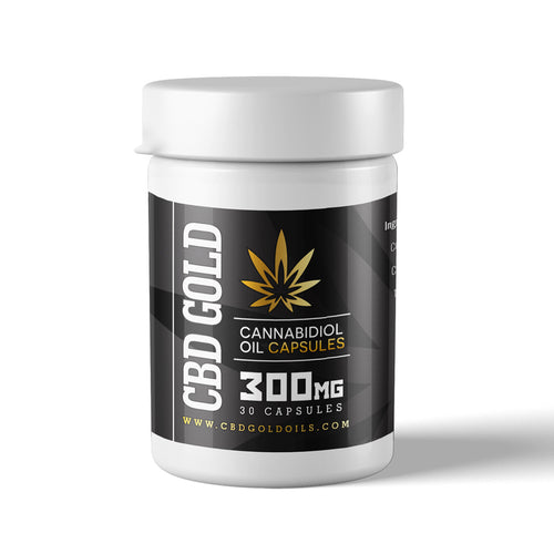 CBD GOLD Capsules 300mg