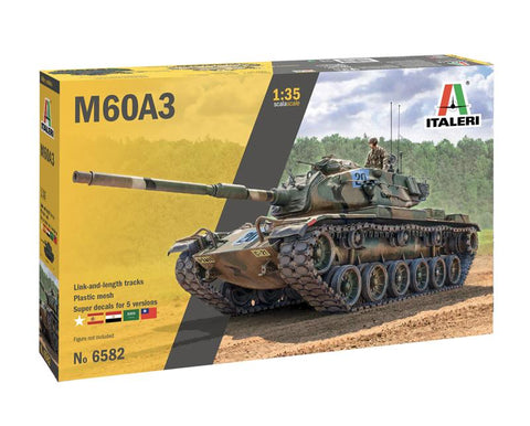 Italeri Military 1/35 M60A3 Main Battle Tank Military Kit