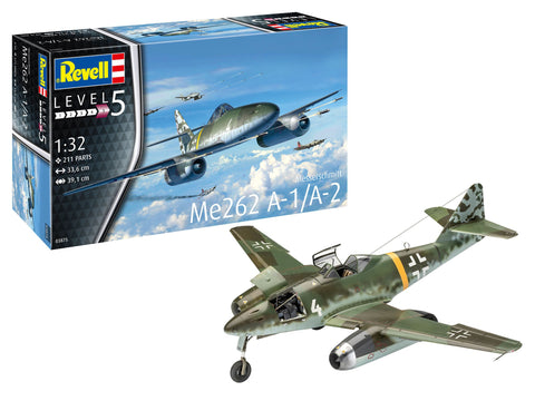 Revell Germany Aircraft 1/32 Messerschmitt Me262A1/A2 Fighter Kit
