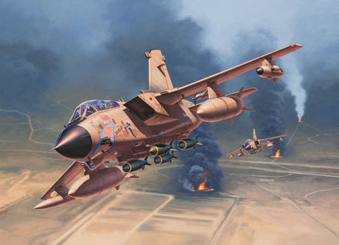 "Revell Germany Aircraft 1/32 Tornado GR Mk.1 RAF ""Gulf War"" Kit"