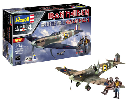 Revell Germany Aircraft 1/32 Spitfire Mk II Aces High Iron Maiden Fighter Kit