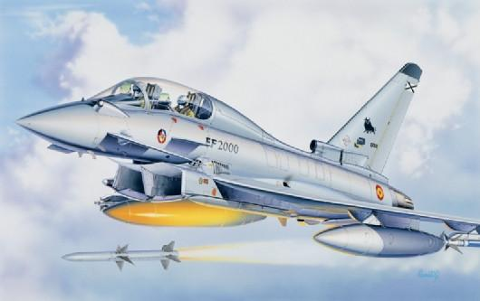 Italeri 1/72 Eurofighter Aircraft Kit