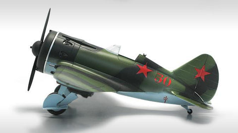 Academy Aircraft 1/48 Polikarpov I16 Type 24 Fighter Special Edition Kit