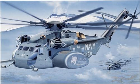 Italeri Aircraft 1/72 MH53E Sea Dragon Mine-Sweeping Helicopter Kit