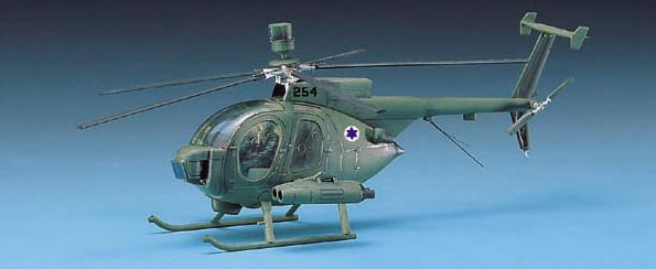 Academy Aircraft 1/48 Hughes 500D Tow Helicopter Kit