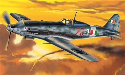 Italeri Aircraft 1/72 MC205 Veltro Fighter Kit