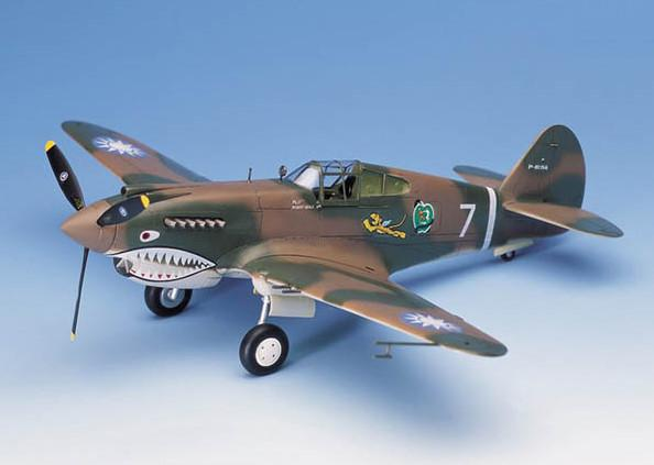 Academy Aircraft 1/48 P40C Tomahawk Fighter Kit