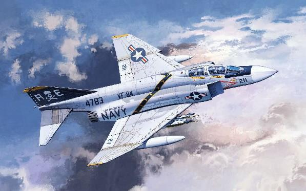 Academy Aircraft 1/48 F4J VF84 Jolly Rogers USN Fighter Kit