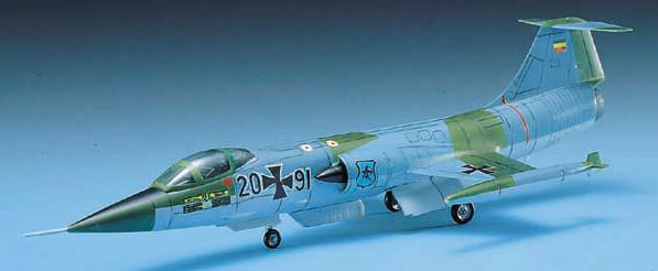 Academy Aircraft 1/72 F104G Starfighter German Fighter Kit