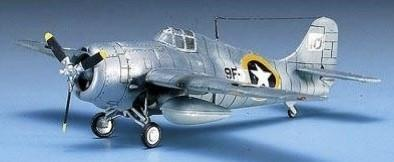 Academy Aircraft 1/72 F4F4 Wildcat USN Fighter Kit