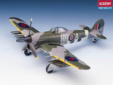 Academy Aircraft 1/72 Hawker Typhoon 1B Aircraft Kit