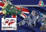 Italeri Aircraft 1/72 Wessex UH5 Helicopter & Sea Harrier FRS1 Fighter 30th Anniv Falklands War (2 Kits)