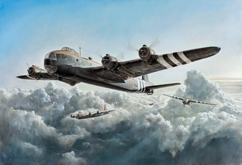 Italeri Aircraft 1/72 Stirling Mk IV Glider Tug-Paratrooper Transporter Aircraft D-Day Normandy Kit