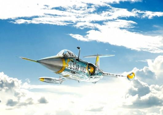 Italeri 1/72 F104A/C Starfighter Supersonic Interceptor Aircraft Kit