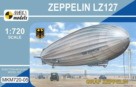 Mark I 1/720 Zeppelin LZ127 Graf Zeppelin German Airship Kit